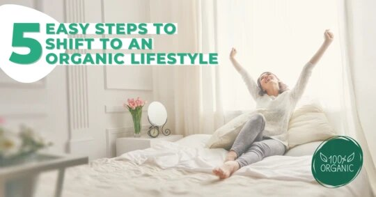 5 Easy Steps If You Want To Shift to An Organic Lifestyle