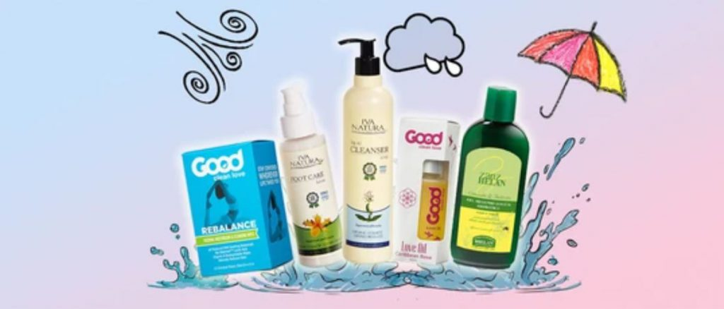 5 Products You Need To Stay Clean This Rainy Season