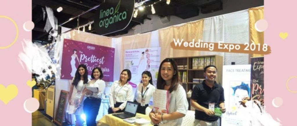 The Prettiest & Sexiest You: LineaOrganica at Wedding Expo 2018