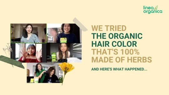 We Tried The Organic Hair Color That's 100% Made Of Herbs And Here's What Happened