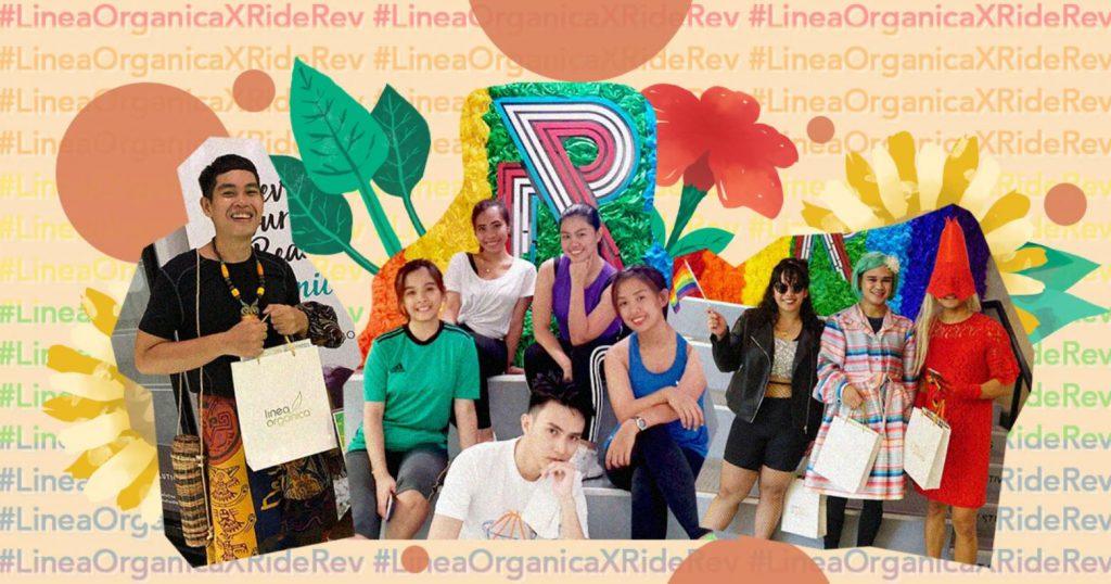 LineaOrganica joins Ride Revolution Pride Week
